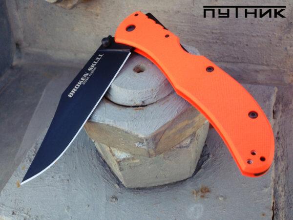 Cold Steel Broken Skull I Orange 54SBOR