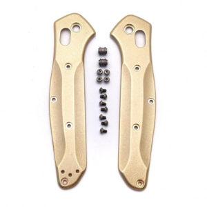 Латунный набор для рукояти Benchmade 940 Osborne — Flytanium