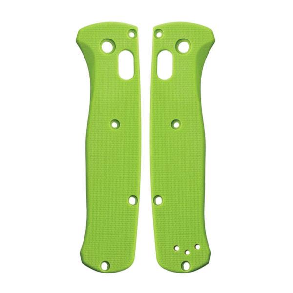 Lime Green G10 плашки для Benchmade 535 Bugout — Flytanium