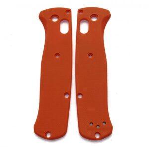 Orange G10 плашки для Benchmade 535 Bugout - Flytanium