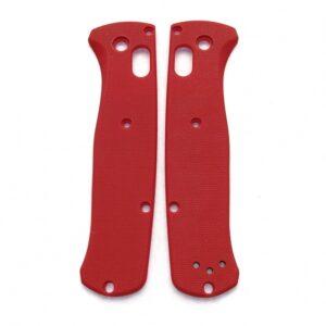 Red G10 плашки для Benchmade 535 Bugout - Flytanium