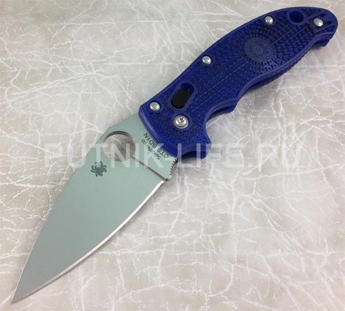 Spyderco Manix 2 Lightweight Blue C101PBL2