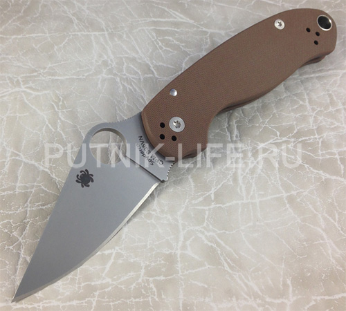 Spyderco Para 3 S35VN Earth Brown C223GPBN