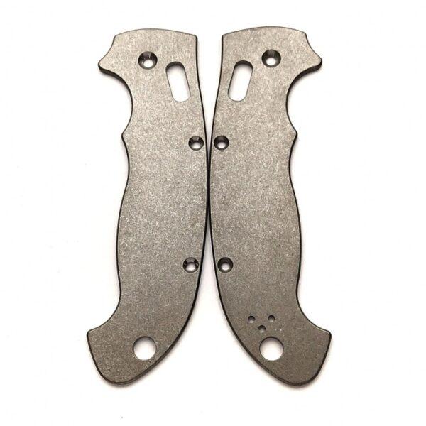 Титановые плашки для Spyderco Manix 2 XL - Flytanium